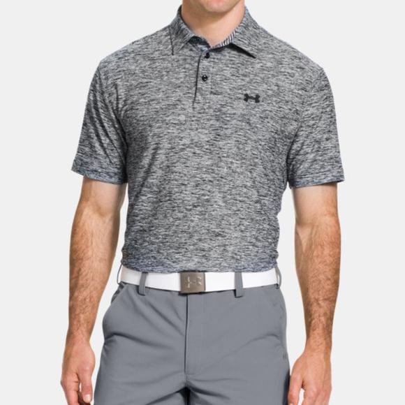 Under Armour Shirts | Under Armour Mens Athletic Golf Polo Grey Size L |  Poshmark